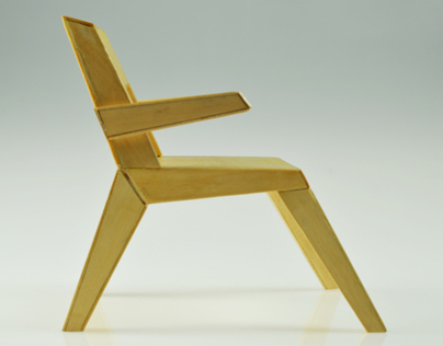 Chair Model: 1x4 Scale