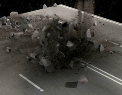 Cinema4D Destruction VFX 03