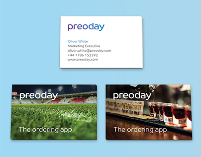 Preoday Business Cards