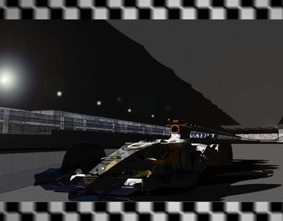 Yas Marina Track Test