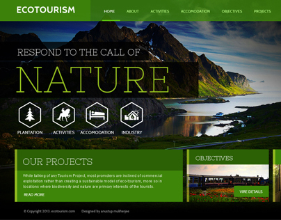Eco Park Responsive Website