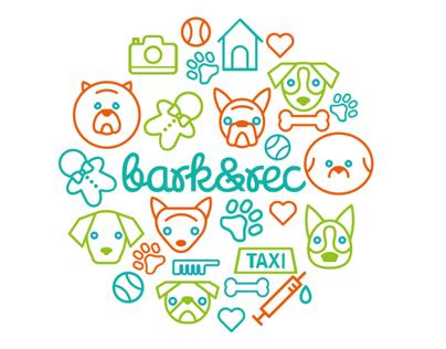 Bark&Rec Visual Identity