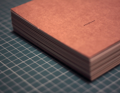 Hand-bound notebooks