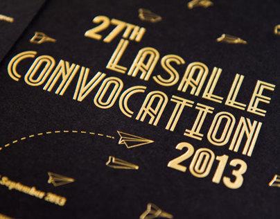 27th LASALLE Convocation 2013