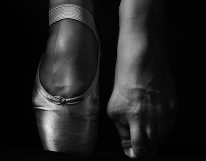 Black and White Study   Ballerina