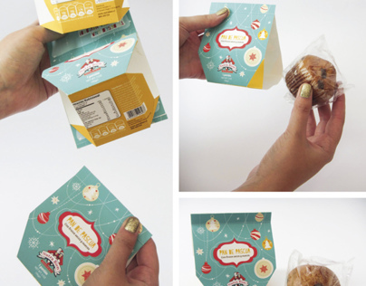 Fruitcake Packaging Pan de Pascua Nutrabien
