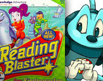 READING BLASTER- Children's Educational Game