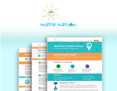 Metta Nation Webdesign