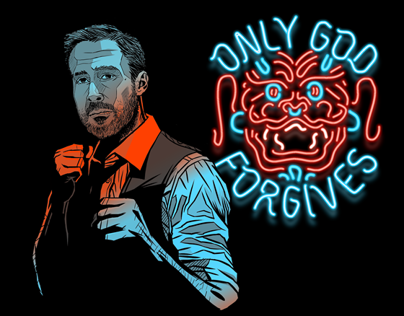ONLY GOD FORGIVES - Tribute Artwork