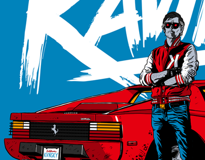 KAVINSKY / OUTRUN - Tribute Artwork