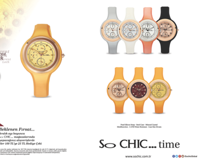 So CHIC...time Magazine Advertisement