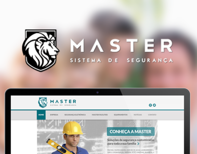 Master Segurança - Website