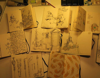 Moleksine sketchbooks