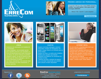 ErreCom - WebSite design