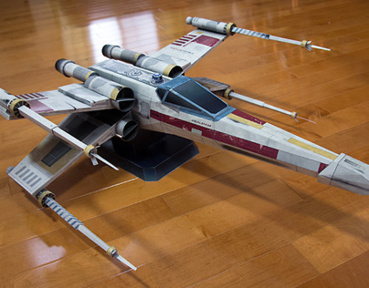 Starfighter-X Star Wars Inspired Paper Model