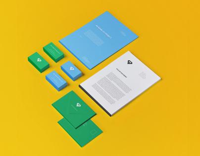 Visual Identity for Mr. Christer Design