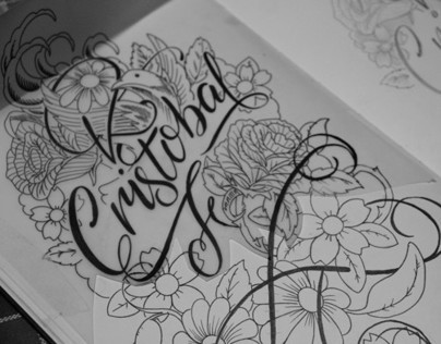 Tattoo Design / Lettering & Illustration
