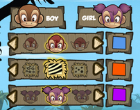 Monkey Quest - User Interface (UX/UI)