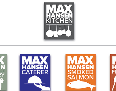 Max Hansen Kitchen Branding