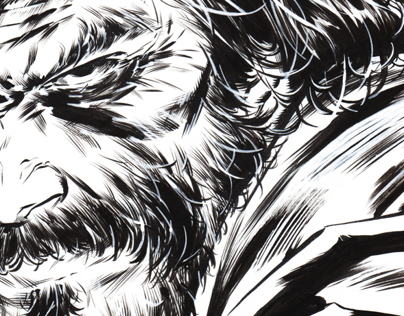 A Step-by-step: From pencils to Inks