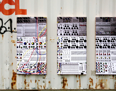 Sound Dampening Panels: Modular Synthesizer