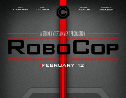 RoboCop 2014 Movie Posters