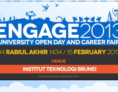 ENGAGE 2013 - ITB Open Day & Career Fair
