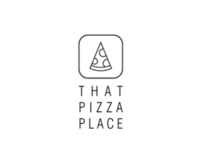 That Pizza Place Sample Logo's