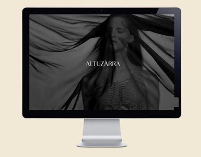 Altuzarra, Website