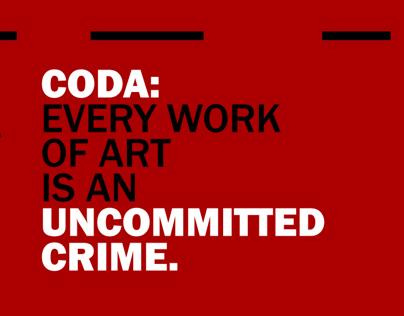 CODA: The Uncommited Crime