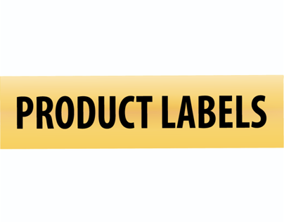 Product Labels: Signs By Tomorrow