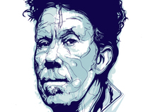 Tom Waits Illustration done on ipad with Adobe Ideas