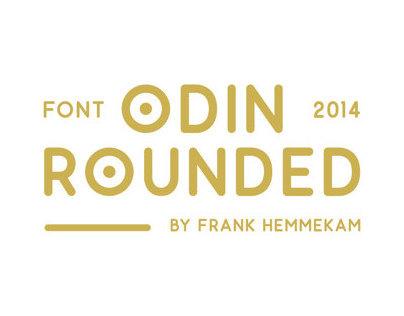 Odin Rounded - Free typefamily