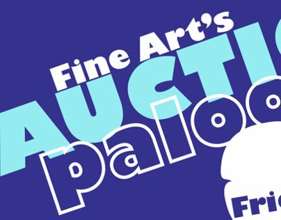 Fine Arts Auction Palooza – University Service