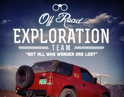Off Road Exploration Team Branding