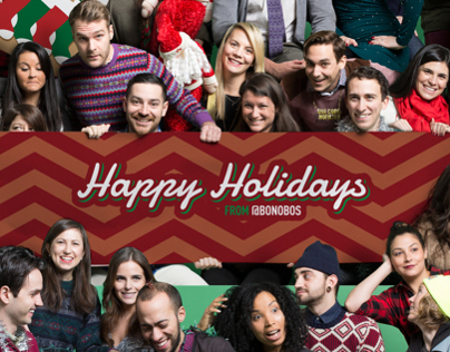 Bonobos Instagram Holiday Card
