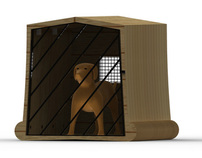 MODULAR KENNEL FOR DOGS