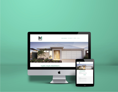 Moriah - Website Design Concept