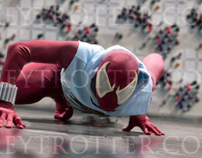 SCARLET SPIDER (Cosplay Photography)