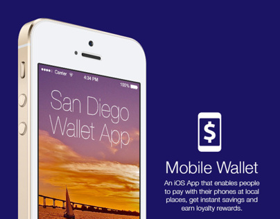 Mobile Wallet app (iOS 7 version)