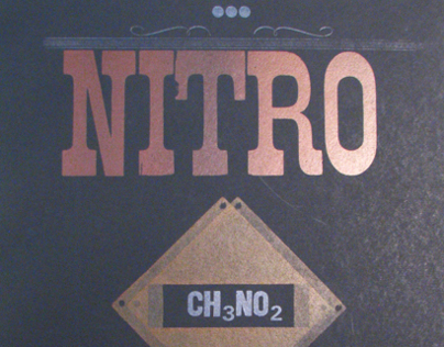 Nitromethane - Letterpress