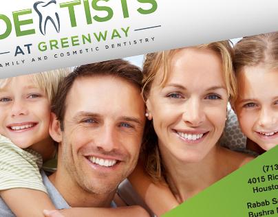 The Dentists at Greenway Postcard