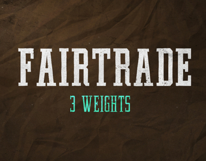 FAIRTRADE Font