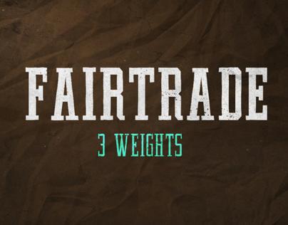 FAIRTRADE Font