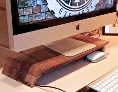 Mac Stand 1.0 w/ Built-in Hard drive & USB Ports