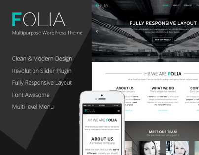 Folia - Multipurpose WordPress Theme