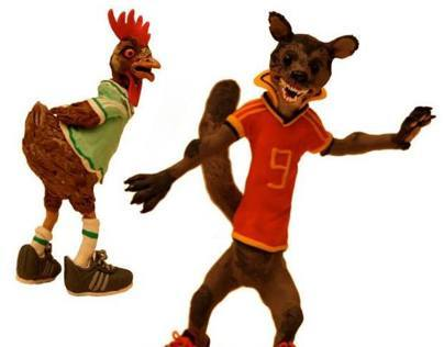 Adidas Commercial Treatment - Hens versus Martens.