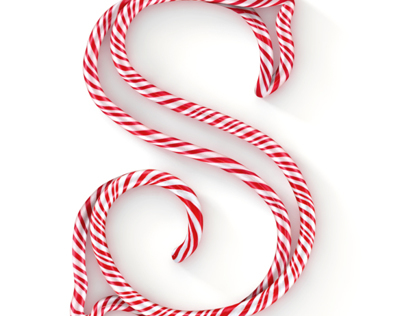 New York Lottery candy cane alphabet