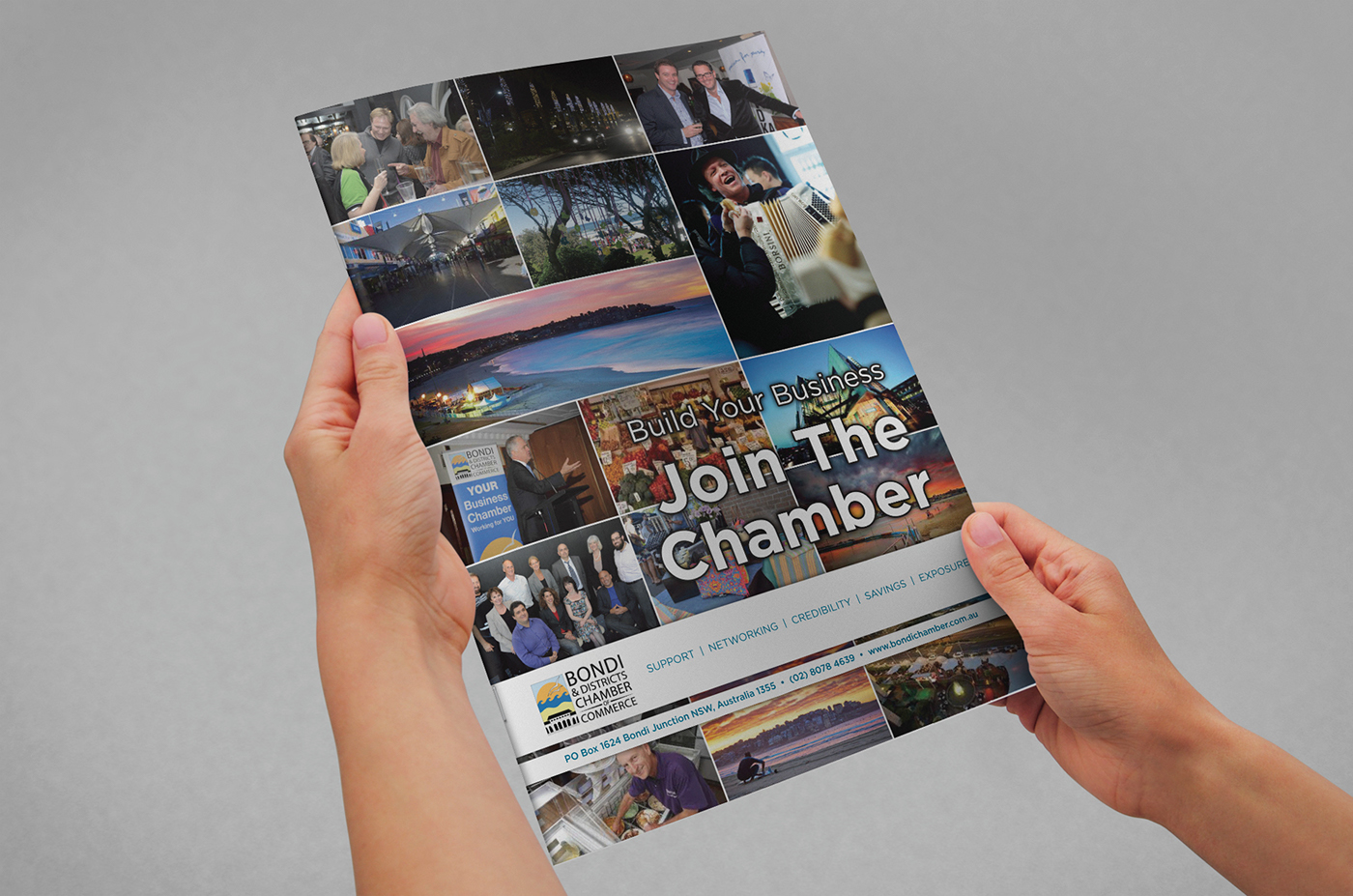 Bondi & Districts Chamber of Commerce A4 brochure