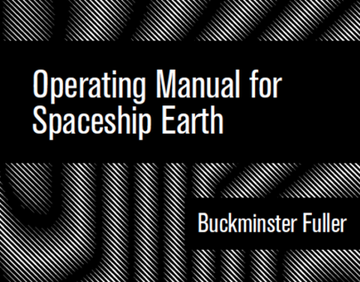 Book Design: Operating Manual for Spaceship Earth
